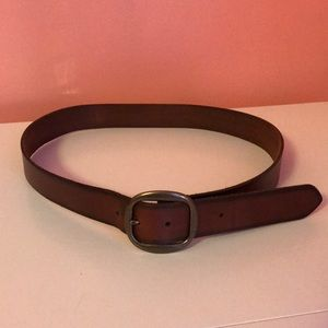Hollister brown belt